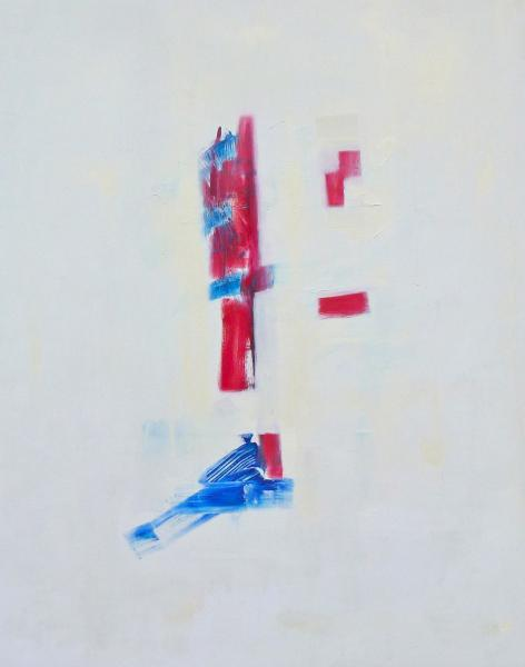C.Khouri_Abstract in white_oil on canvas_120cm x 180cm_ 2012
