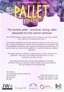 Pallet Paradise invitation