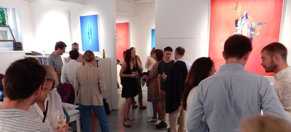 exhibition people